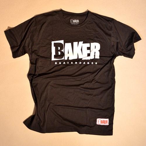 Baker Shirt Reset Logo Black