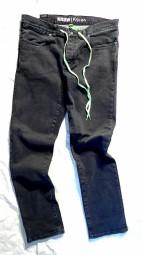 Kr3w Jeans K Slim Lizard King Black