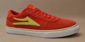 Lakai Manchester Select Red Lime Suede