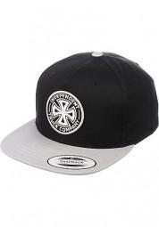 Independent Cap OGTC Snapback Black Silver
