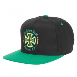 Independent Cap Snapback Voltage Black Green
