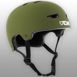 TSG Helm Evolution Solid Colors Flat Olive